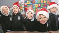 What does Santa do on Christmas morning? Junior infants reveal the magic of Christmas