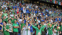 Supporters at Republic of Ireland v Italy - EURO2012 Group C