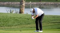 Shane Lowry digs in on 'weird day'