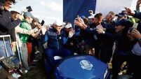 Pragmatic Thomas Bjorn cools Ryder Cup expectations
