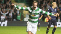 Super-sub Leigh Griffiths heads dramatic late Celtic winner