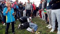 I could've been killed, says Ryder Cup fan hit by golf ball