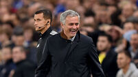Jose Mourinho relishes cup pressure ahead of clash with Lampard's Derby