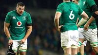 Ireland take fall that tends to follow the Slam