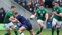 Six Nations: Joe Schmidt plays down Sexton head injury as Ireland win against Scots
