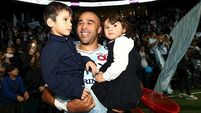 Simon Zebo's tries see Racing into Champions Cup quarter-finals