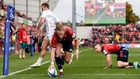 Munster's Mike Haley wary of 'fantastic' mentor Danny Cipriani