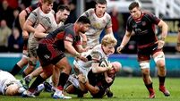 Ulster up to third with bonus-point win over Dragons