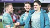 Backs to the future for Munster attack