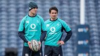 Johnny Sexton and Joey Carbery on track to face France