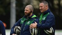 Andy Friend's coaching team sign up for two more years at Connacht