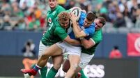 Ireland wannabees press case for Argentina minutes