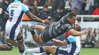 Last-gasp try helps Newcaslte overcome star-studded Montpellier