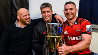 Ryan Crotty pays tribute to 'awesome' Ronan O'Gara