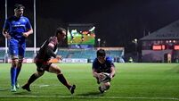Leinster ease to nine-try victory over Dragons