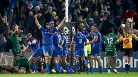 Leinster score last-gasp try after 41 phases to beat Connacht in Christmas cracker