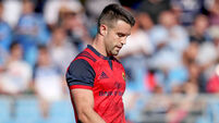 Conor Murray dejected after the game 15/10/2017