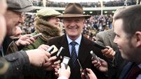 Photo picture perfect as Willie Mullins gets Gold Cup monkey off his back