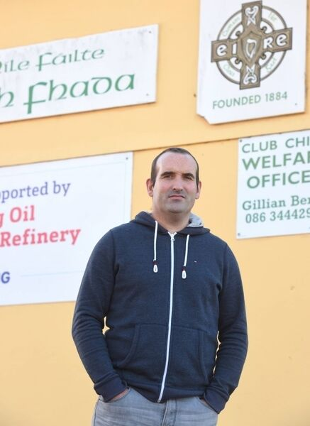 Former Cork footballer Kieran O'Connor at Aghada GAA pitch, Aghada, Co. Cork. Pic; Larry Cummins