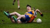 Frozen pitch blamed for Coughlan's broken ankle
