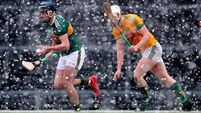 Kerry hurlers sizzle in the snow