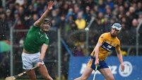 Gillane gives Limerick a share of the points in Clare