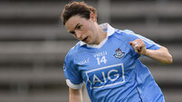 Footballer of the Year Sinead Aherne scores 3-3 on her return
