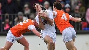 Jimmy Hyland strikes late for Kildare to frustrate dominant Armagh