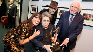 Shane MacGowan and Victoria Mary Clarke tie the knot in Copenhagen