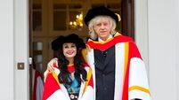 Marian Keyes and Bob Geldof receive honorary doctorates from UL