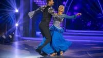 DWTS: Nothing to smile about as Fred exits dancefloor