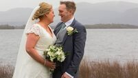 Wedding of the Week: A romance written in the sand