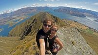 Online Lives: Couple Brian Barry and Noelle Kelly are travelling the world