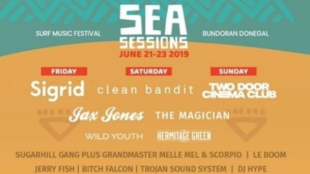 More acts announced for this year's Sea Sessions