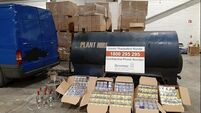 Revenue officers seize illegal fuel, cigarettes and alcohol in Dundalk