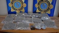 Two men arrested as gardaí seize drugs and cash in Tipperary