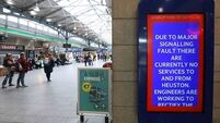 Latest: Irish Rail says 20,000 passengers affected by 'worst fault in years'