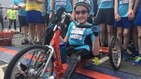 14-year-old born without use of his lower limbs completes fifth Great Limerick Run