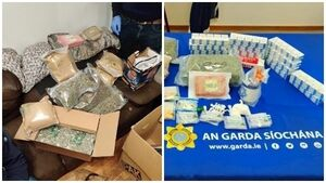 Man arrested after drugs worth €221,000 seized in Dublin