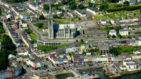 Gardaí called after altercation at port right of way protest in Cobh