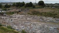 Gardaí called as armed men force security from illegal dumping site in Cork