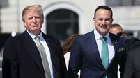 Donald Trump 'looking forward' to visit to Ireland