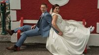 Wedding of the Week: From supermarket aisle to wedding aisle