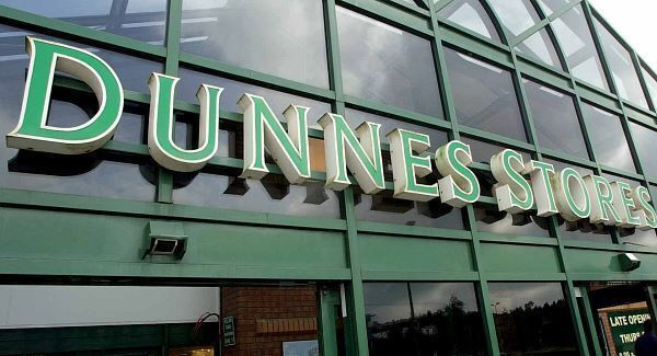 Dunnes stores sign over a store unrelated to this case