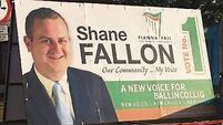 Candidates accused of flouting poster ban spirit