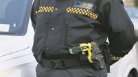 Man brandished glass and lamp in standoff with gardaí