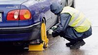 Over 24,000 vehicles clamped in Irish Rail car parks in three years