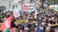 #RaiseTheRoof: Thousands march through Dublin to demand action on housing crisis