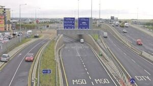 M50 has highest number of collisions, according to AA Roadwatch