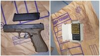 Two men arrested after handguns and ammunition seized in west Dublin